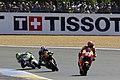 Marc Márquez, Bradley Smith and Cal Crutchlow 2015 Le Mans.jpeg