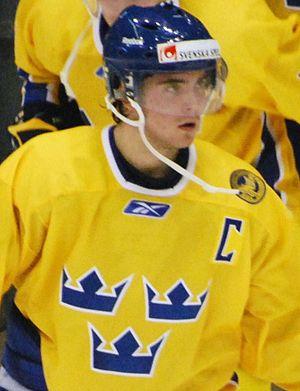Marcus Johansson (ice hockey, born 1990) - Image: Marcus Johansson Closeup