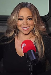 Mariah Carey American singer and songwriter