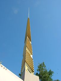 Marin County Civic Center Spire 20060610.jpg