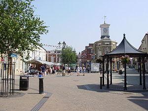 Brigg - Image: Market Place, Brigg