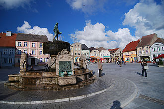 Darłowo - Darłowo's Main Market Square