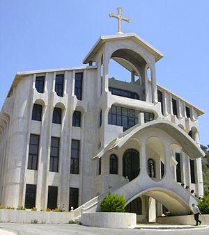 Marmarita - A modern Marmarita church