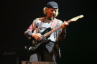 Martin Barre - Barre performing at the Cropredy Festival, Oxfordshire 13 August 2004