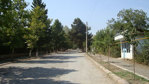 Khojavend (town) - A street in Martuni