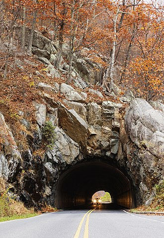 Skyline Drive - Marys Rock Tunnel
