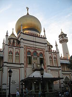 The Sultan Mosque in Singapore
