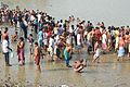 Mass Bathing - Jagannath Ghat - Kolkata 2012-10-15 0735.JPG