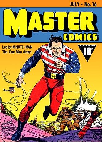 Fawcett Comics - Image: Master Comics No 16