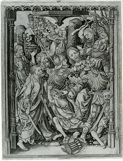Master I. A. M. of Zwolle Dutch artist