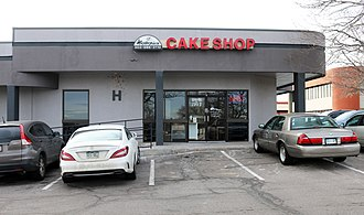 Masterpiece Cakeshop v. Colorado Civil Rights Commission - Masterpiece Cakeshop in Lakewood, Colorado