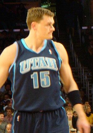 Matt Harpring - Image: Matt Harpring vs Lakers 2009