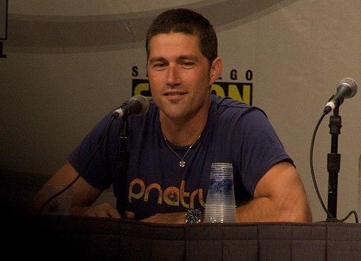 Matthew Fox at 2008 Comic Con