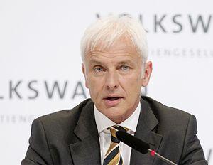 Matthias Müller (businessman) - Image: Matthias Müller 2015 03 12 002