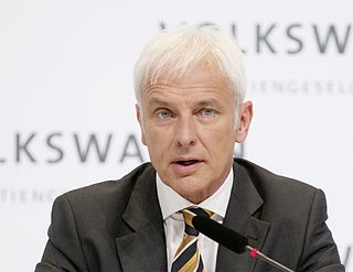 German CEO of Volkswagen