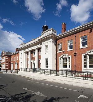 Maudsley Hospital - Image: Maudsley Hospital Main Building