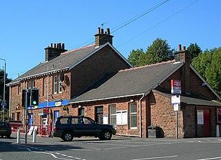 Maybole railway station railway station in South Ayrshire, Scotland, UK