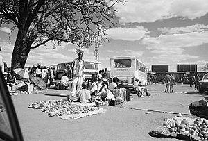 Mbare, Harare - Vendors at Mbare
