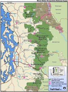 Mount Baker-Snoqualmie National Forest - Wikipedia