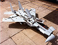 McDonnell Douglas F-15A (SN 76-043) with inspection panels open. 061006-F-1234S-086.jpg