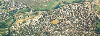 McKellar, Australian Capital Territory - Aerial view of McKellar, from the west.