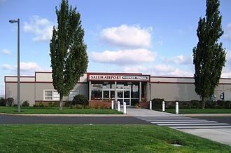 McNary Field - Terminal building in 2008