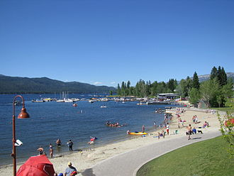 McCall, Idaho - Payette Lake at McCall in July 2010