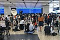 Media coverage at HK West Kowloon Station ticket counters (20180910110714).jpg