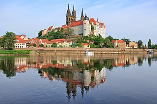 Meissen Place in Saxony, Germany