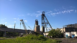 Melnykov coal mine in Lysychansk 006.jpg
