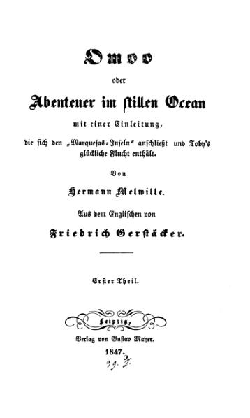 File:Melville-Omoo oder Abenteuer im stillen Ocean. Teil 1.djvu