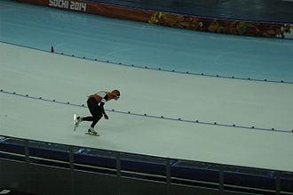 Speed skating at the 2014 Winter Olympics – Men's 1500 metres - Silver medalist Koen Verweij