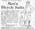 Men's bicycle suits James Wilde Jr & Co.png