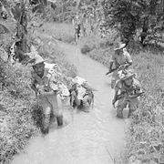 Men of the 2-9th Gurkha Rifles