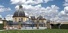 M nagerie royale de versailles wikip dia for Architecte de versailles sous louis xiv