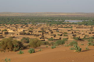 Ménaka Commune and town in Mali