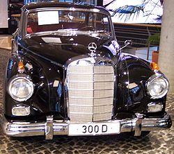En klassisk Mercedes-Benz