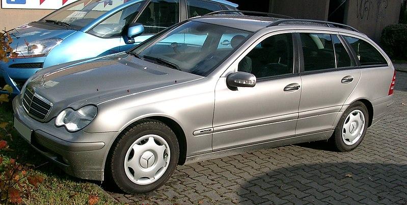 File:Mercedes W203 Kombi front 20071030.jpg