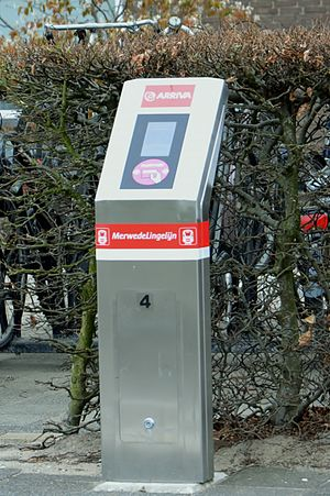 MerwedeLingelijn - OV-Chipcard scanner