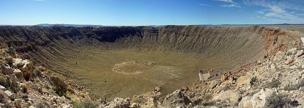 Barringer Meteorite Crater, Flagstaff, Arizona, United States. A U.S. National Historic Landmark