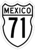 Federal Highway 71 shield