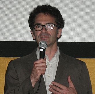 Michael Azerrad - Azerrad at the Seattle International Film Festival in 2007, after a screening of his film Kurt Cobain: About a Son