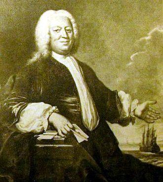 Michael Fabritius - Michael Fabritius painted by Johann Salomon Wahl in 1742