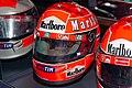 Michael Schumacher 2000 Japanese GP helmet front-left 2019 Michael Schumacher Private Collection.jpg