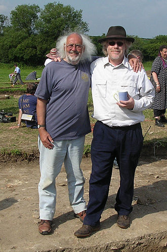 Time Team - Aston with Tim Taylor in 2005.