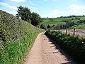 Mid Devon , Leigh Barton Footpath and Driveway - geograph.org.uk - 1250875.jpg