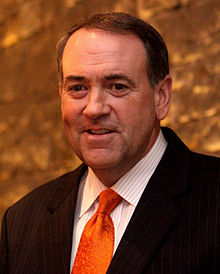 Mike Huckabee, en 2010.