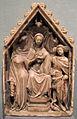 Milano, madonna col bambino tra i santi caterina e michele, 1400-1410 ca..JPG