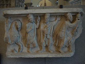 Benedetto Antelami - Adoration of the Magi