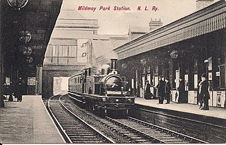 Mildmay Park railway station - Image: Mildmay Park railway station